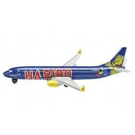 """Schuco 403551589 Flygplan Boeing 737-800 """"TUIfly/Haribo"""""""