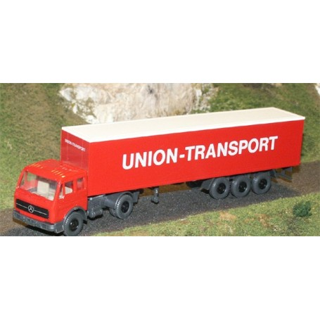 "Wiking 541 MB 2026 med skåptrailer ""Union Transport"""