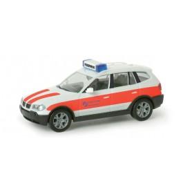 """Herpa 048590 BMW X3™ ELW """"Salzgitter fire department"""""""