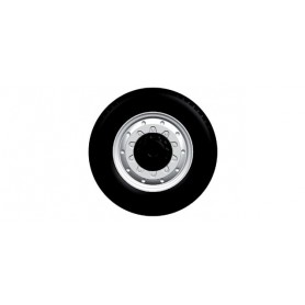 Herpa 052948 All-wheels for the front axle, 2-part, 8 wheelsets
