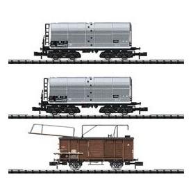 "Trix 15136 Godsvagnsset, 3 vagnar ""Ölbetankung"""