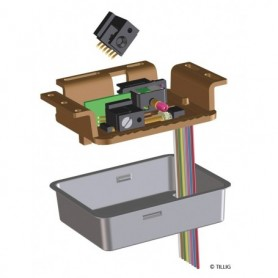 Tillig 86112 Växelmotor för Tilligs växlar, 14-16V AC, 75 mA