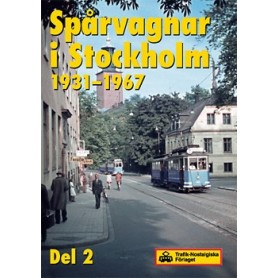 Media DVD6 Spårvagnar i Stockholm, del 2, 1931-1967, DVD