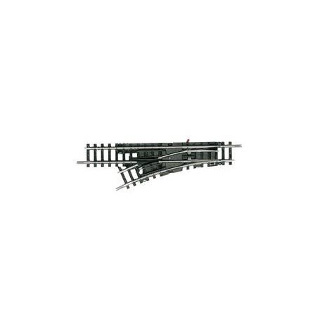 Trix 14951 Växel, vänster 30° - 24°, längd 104,2 mm R1 - 24°