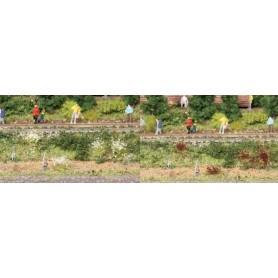 Heki 1805 Buskväxt/grästuvor 100 st, lila/vita, 6 mm höga