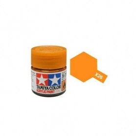 Tamiya 81526 X-26 Clear Orange
