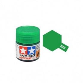 Tamiya 81525 X-25 Clear Green