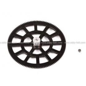 E-Sky 000651 Drev för inneraxel Set A, 1 st, svart, passar för bl.a. E-Sky Big Lama