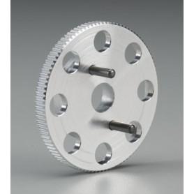 Traxxas 4142X Svänghjul, 40 mm, för startbox, passar REVO, 1 st