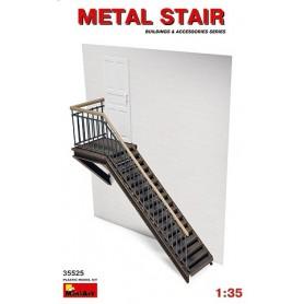 Miniart 35525 Metalltrappa
