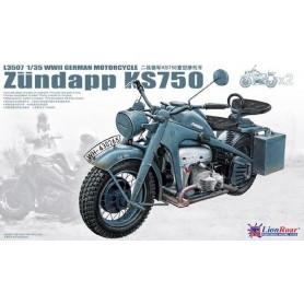 Lion Roar 3507 Zündapp KS750 WWII German Motorcycle,2 st
