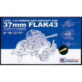 Lion Roar 3505 Kanon German Anti-Aircraft Gun 37 mm Flak43