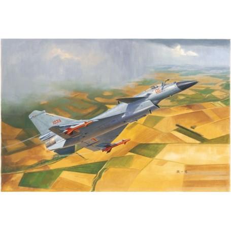 Trumpeter 01651 Flygplan Chinese J-10B Fighter