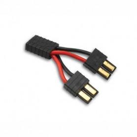 Traxxas 3064X Y-Kabel för paralellkopplade batterier, med nya ID kontakten