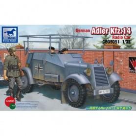 Bronco 35051 German Adler Kfz.14 Radio Car