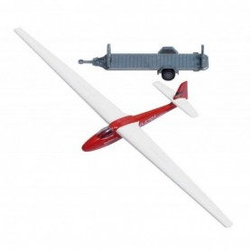 "Busch 1154 Segelflygplan med tailer ""PR Vinzial"""