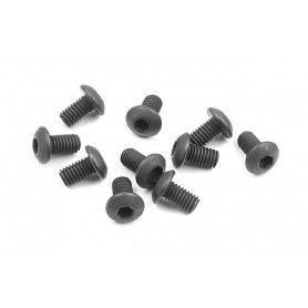 XRay 902305 Skruv, insex, kuller, M3x5mm, 10 st