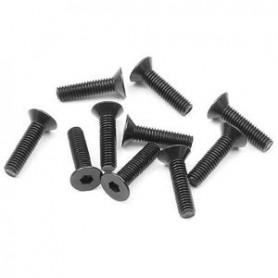 XRay 903312 Skruv, insex, försänkt, M3x12mm, 10 st