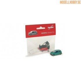 Herpa 012218 Renault Twingo, finns i grönt eller rött byggsats