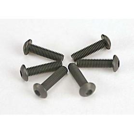 Traxxas 2578 Skruv, insex, kuller, M3x12mm, 6 st