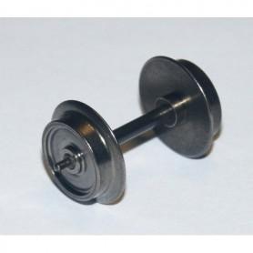 Trix 36667900 AC-Hjul, 11 mm, tapplager, axellängd 25,4 mm, 1 st