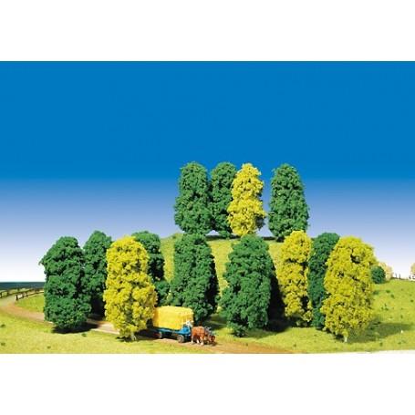 Faller 181470 Mixad skog, 14 st, ca 13 cm hög