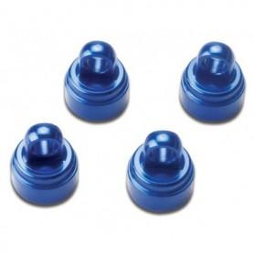 Traxxas 3767A Dämpartoppar, blå anodiserad aluminium, 4 st