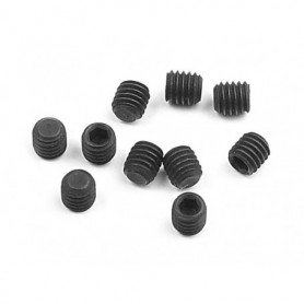 XRay 901304 Stoppskruv M3x4mm, 10 st, svart