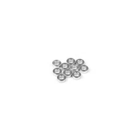 XRay 303123 Shims, aluminium, 3x6x2.0mm, 10 st