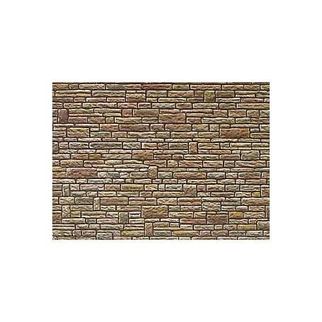 Faller 170604 Murplatta, papp, sandsten mått 25,0 x 12,5 x 0,05