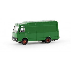 Brekina 34502 Fiat Zeta Skåp, grön