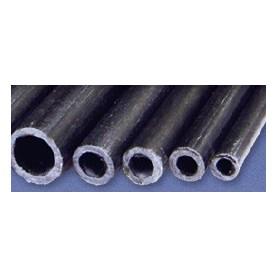 Texson 035133 Kolfiberrör, ytterdiameter 10 mm, innerdiameter 8 mm, längd 1000 mm, 1 st