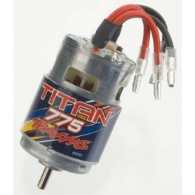 Traxxas 5675 Motor, Titan 775, 10-turn, 775 storlek, 16.8 Volt, 1 st