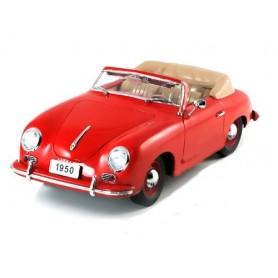 """Signature Models 38201 Porsche 356 Cabriolet 1950, röd """"Premier Miniature"""""""