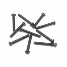XRay 902322 Skruv, insex, kuller, M3x22mm, 10 st