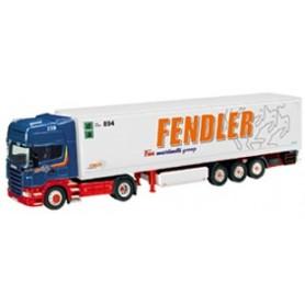 """NZG 714101 Scania R Kyltrailer """"Fendler"""""""