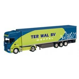 "NZG 714103 Scania R Kyltrailer ""Ter Wal BV"""