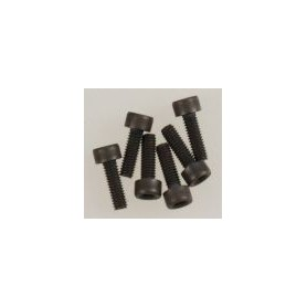 Traxxas 3965 Skuv, insex, socket-head, M2.5x8mm, 6 st