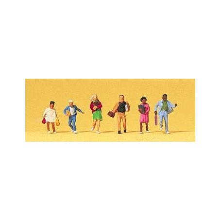 Preiser 79173 Barn på väg till skolan, 6 st