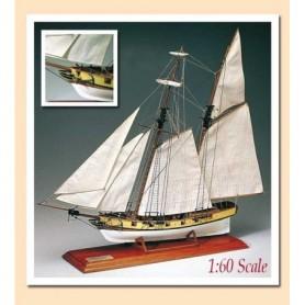 Amati 1444 Segelbåt Roger B. Taney Reveneu Cutter 1833