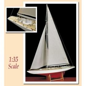 "Amati 1700.81 Segelbåt Americas Cup 1958 ""Columbia"" US Defender"