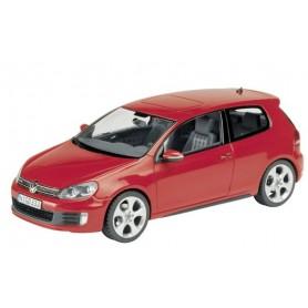 Schuco 07405 Volkswagen Golf VI GTD, röd