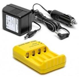 Hop Wo 60C Snabbladdare för 4st AA eller AAA batterier