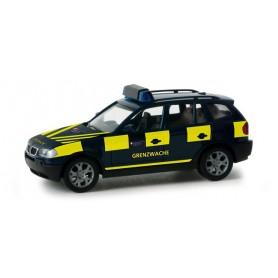 """Herpa 048804 BMW X3 """"Basel border patrol"""" (CH)"""
