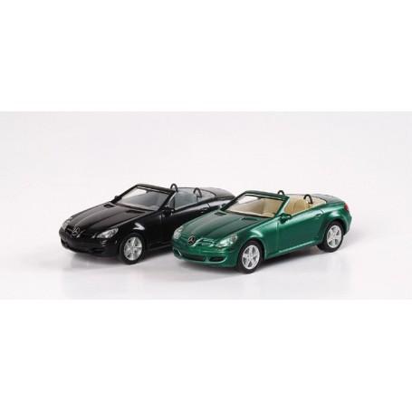 Herpa 033251 Mercedes Benz SLK, metallic
