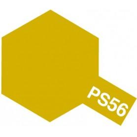 """Tamiya 86056 Sprayfärg PS-56 Senaps Gul """"Mustard Yellow"""", innehåller 100 ml"""