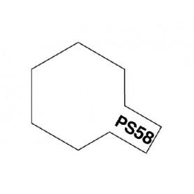"""Tamiya 86058 Sprayfärg PS-58 Pärl Klar""""Pearl Clear"""", innehåller 100 ml"""