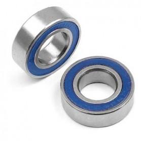 XRay 941319 Kullager, 13x19x4 mm, 2 st, blå gummitätat