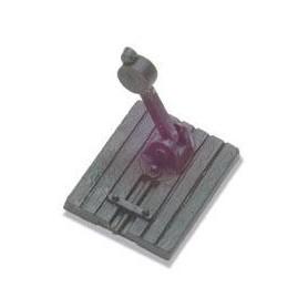 Peco SL-428 Växelomläggare, 2 st, dummys (ej fungerande)