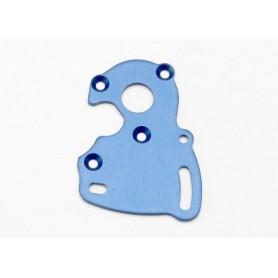 Traxxas 7090 Motorplatta, blå anodiserad aluminium, 1 st